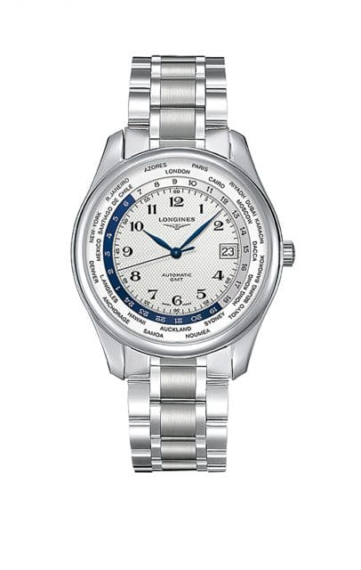 Longines Master Collection GMT mit Edelstahlband