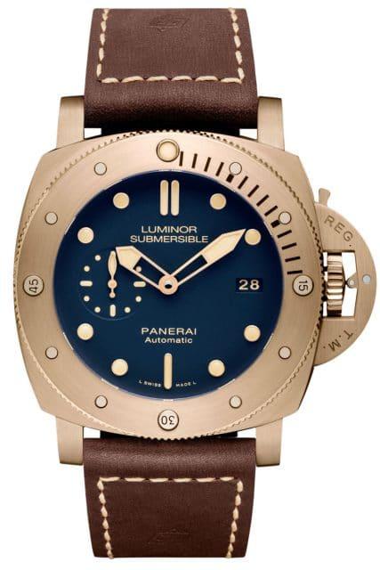 Panerai Taucheruhr: Luminor Submersible 1950 3 Days Automatic Bronze