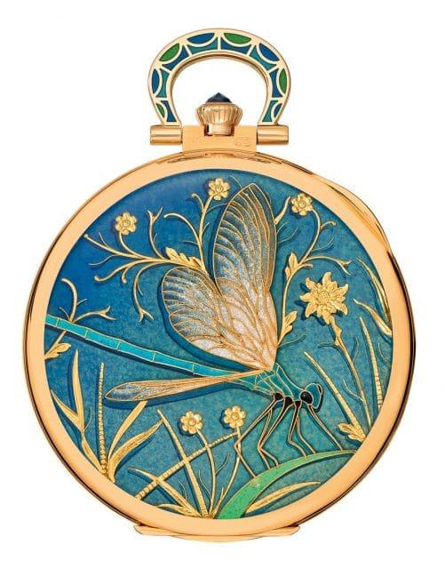 Patek Philippe: Taschenuhr Libelle