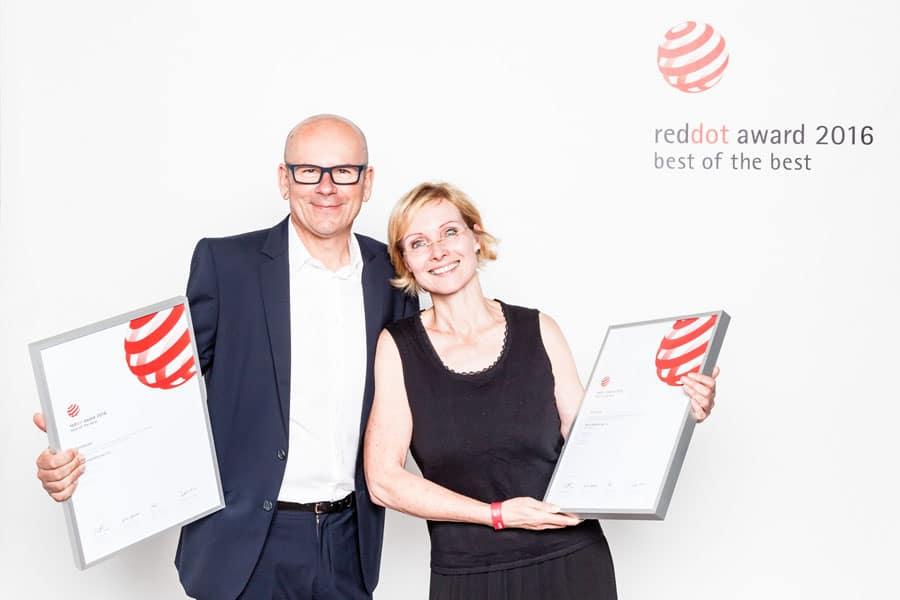 Rainer Brand beim Red Dot Award