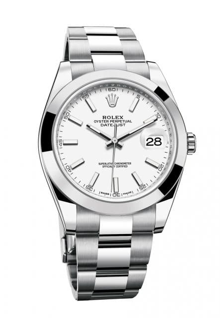 Rolex: Oyster Perpetual Datejust 41 in Edelstahl