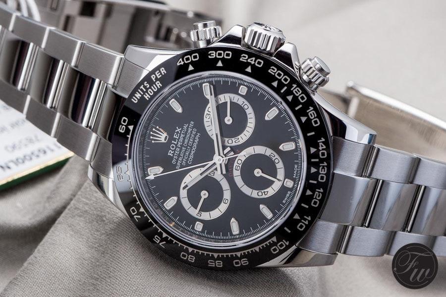 In der Rolex Daytona Referenz 116500 LN tickt das Manufakturwerk 4130