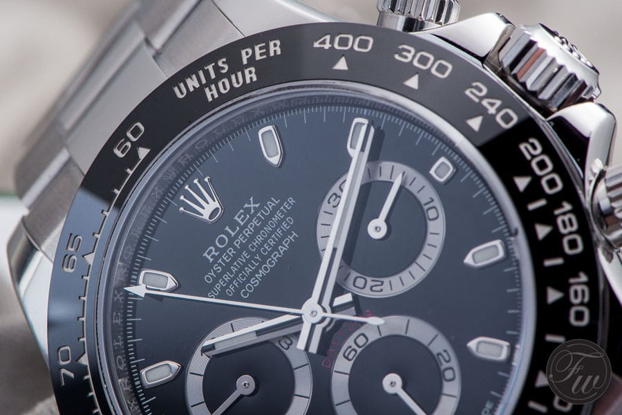 Rolex Daytona Referenz 116500 LN mit schwarzem Zifferblatt