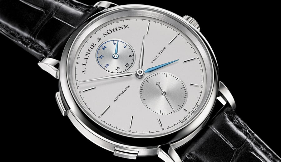 A. Lange & Söhne: Saxonia Dual Time in Weißgold