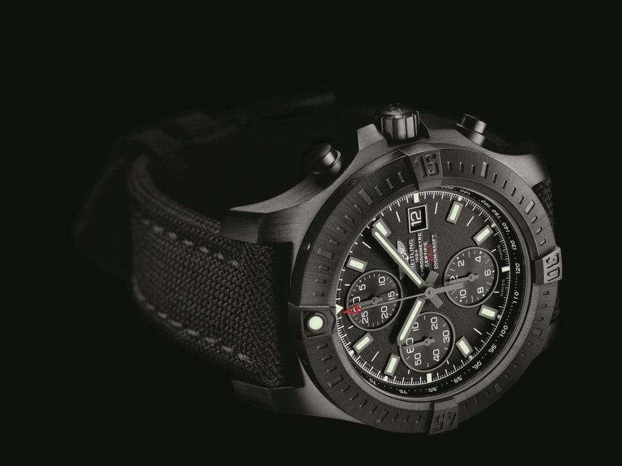 Breitling: Colt Chronograph Automatic Blacksteel