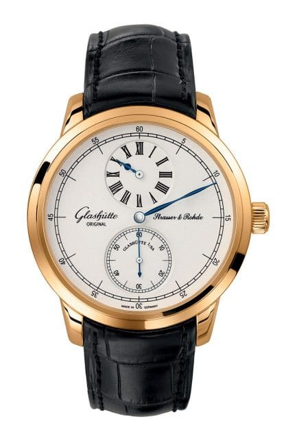 Glashütte Original: Strasser & Rohde Regulator