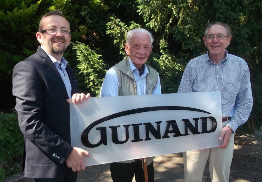 Guinand-Geschäftsführer aus drei Generationen
