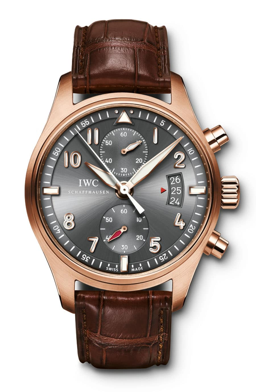 "IWC Spitfire Chronograph IW387803 in der Serie ""The Night Manager"""