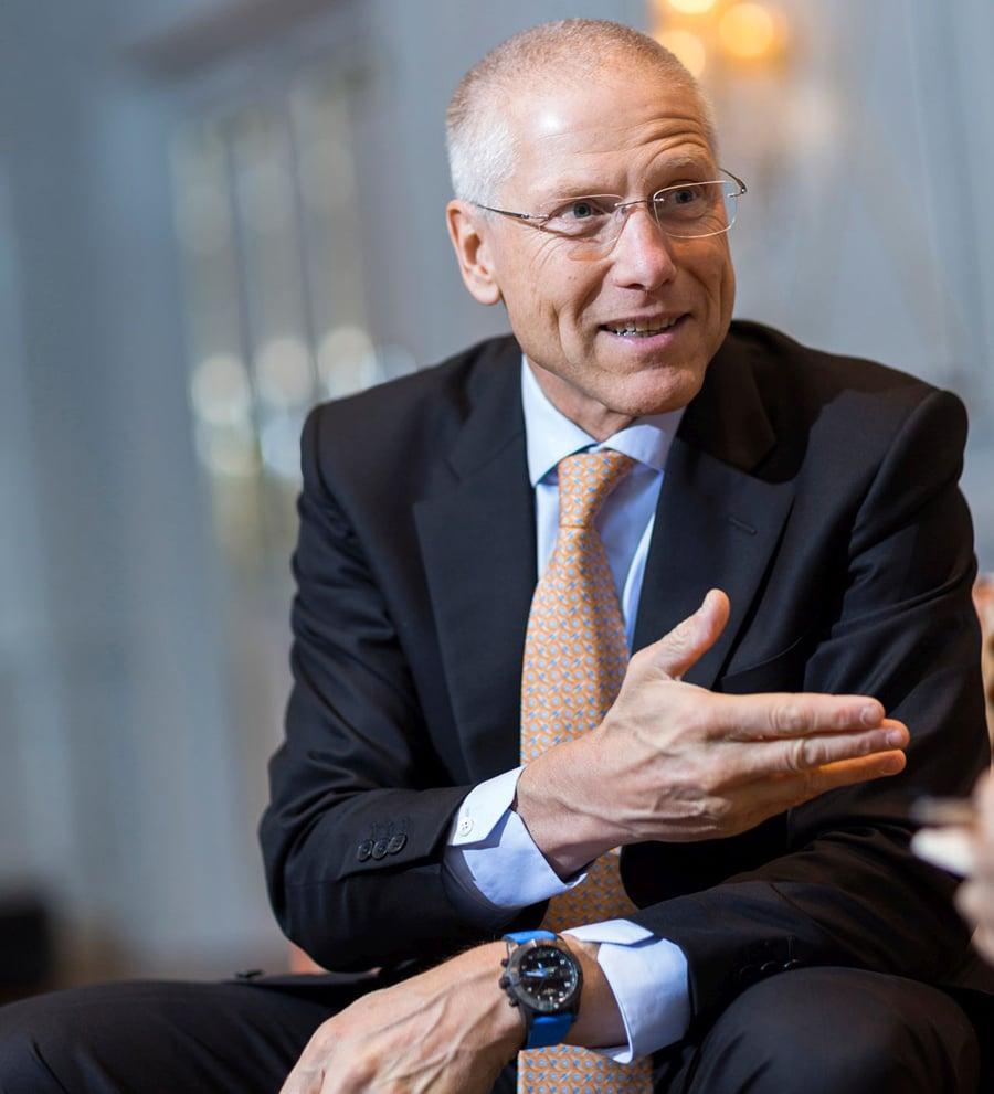 Breitling-Vizepräsident Jean-Paul Girardin