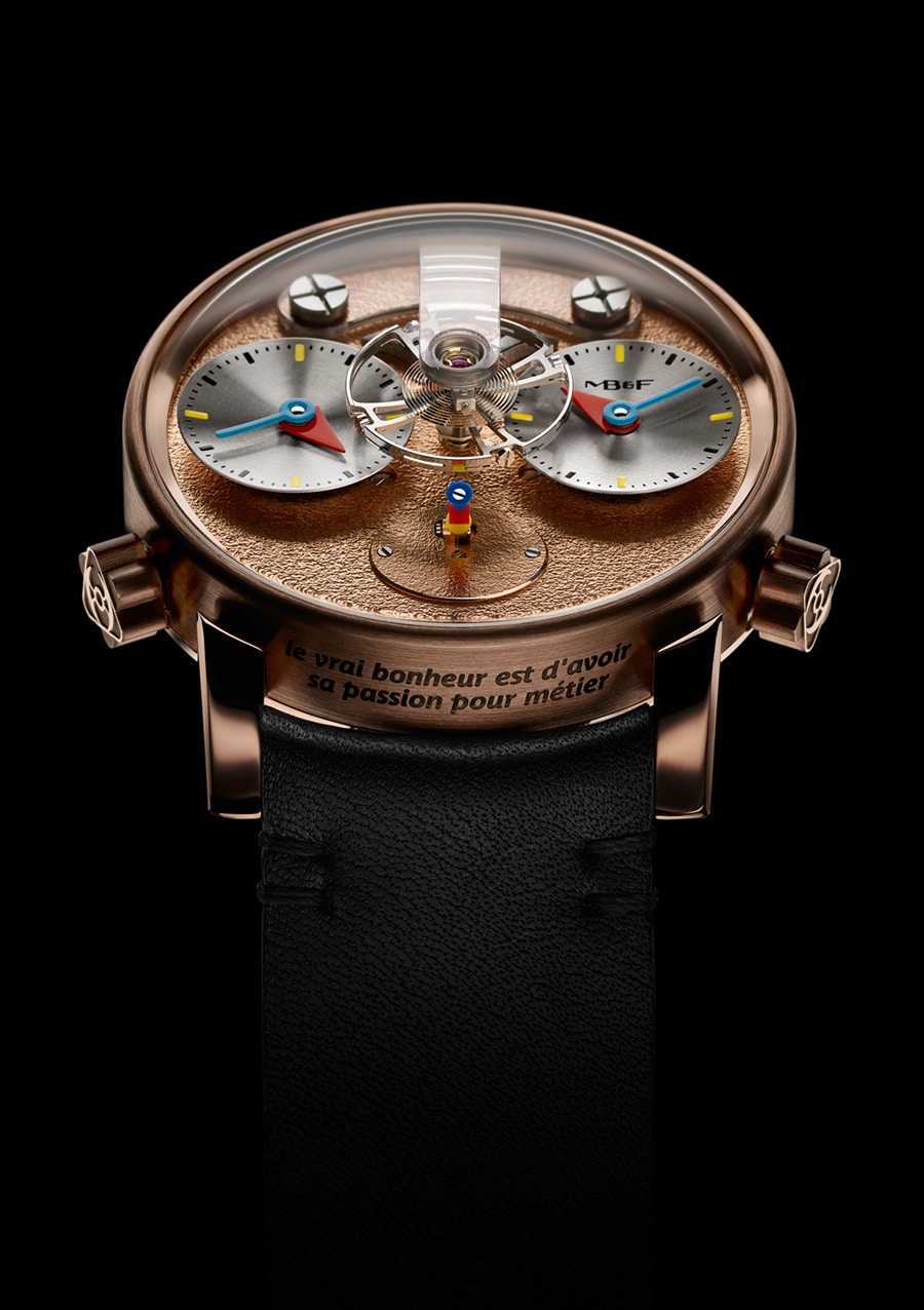 MB&F: LM1 Silberstein in Rotgold