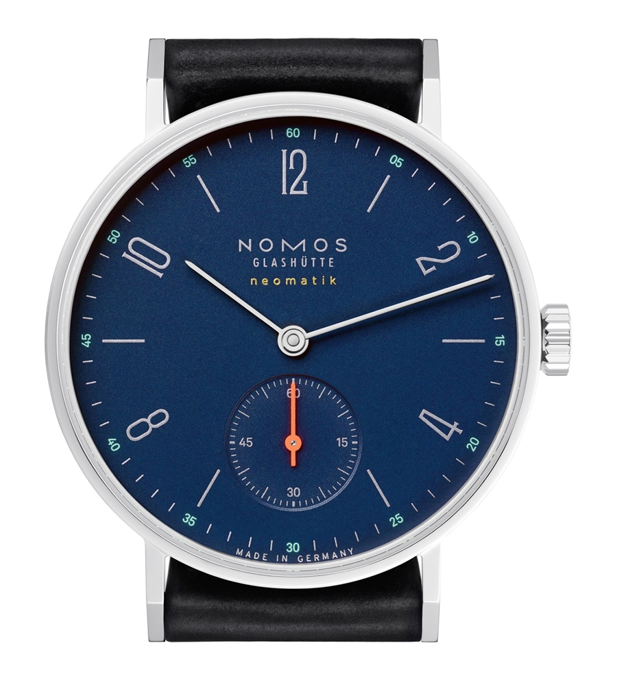 Nomos Glashütte: Tangente neomatik nachtblau