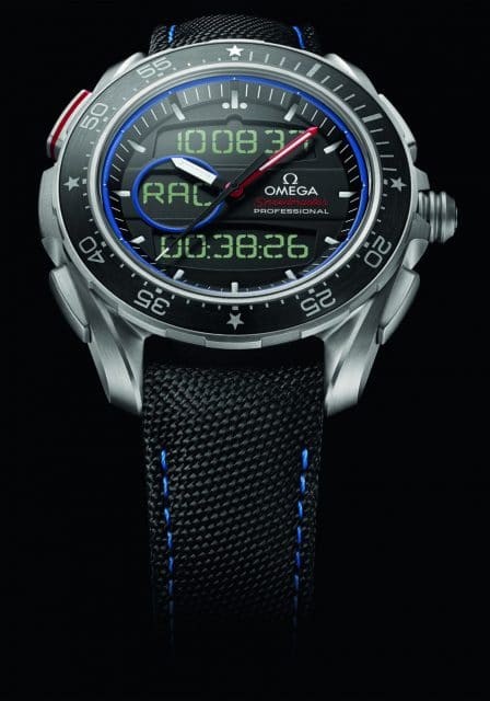 Multifunktional: die Omega Speedmaster X-33 Regatta ETNZ Limited Edition