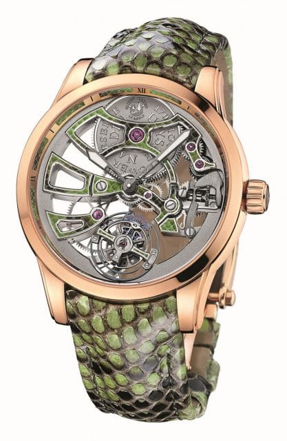 Ulysse Nardin: Royal Python Skeleton Tourbillon