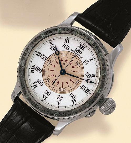 Longines: Lindbergh-Stundenwinkeluhr von 1931