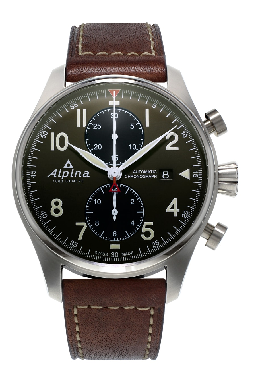 Alpina - News : Alpina Startimer Chrono Pilote Alpina-Startimer-Pilot-Automatic-Chronograph-AL-725GR4S6