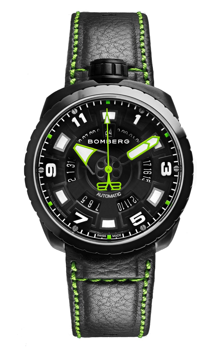 Bomberg: Bolt-68 3 Hands Automatic BS45APBA.045-3