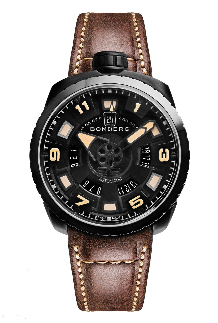 Bomberg: Bolt-68 3 Hands Automatic BS45APBA.045-4