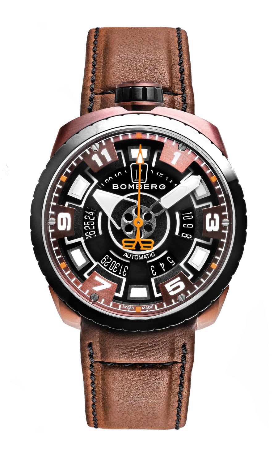 Bomberg: Bolt-68 3 Hands Automatic BS45APBRBA.045-2