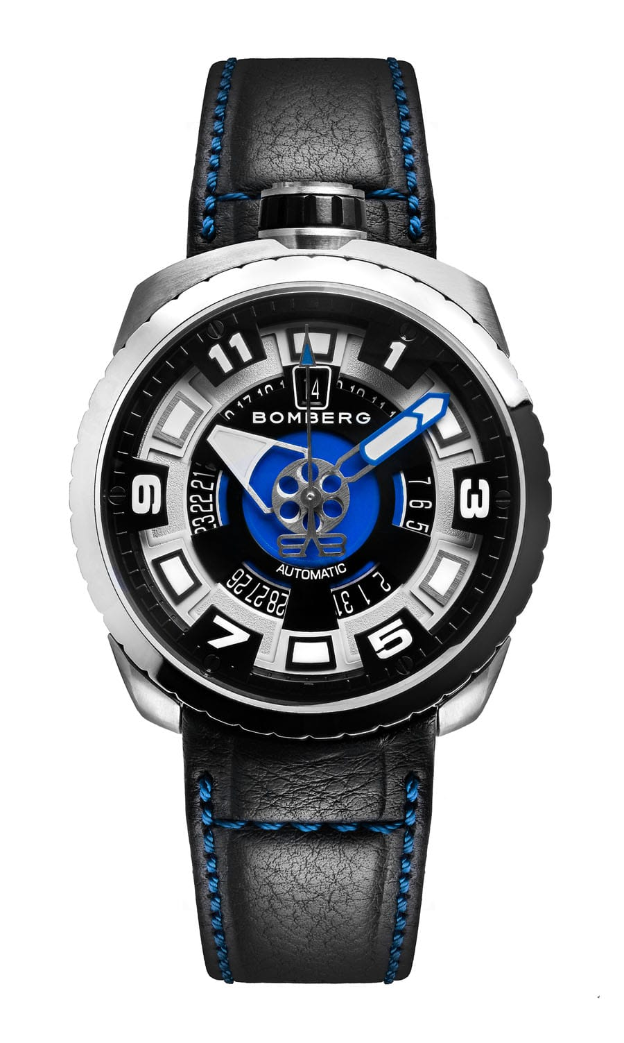 Bomberg: Bolt-68 3 Hands Automatic BS45ASS.045-1