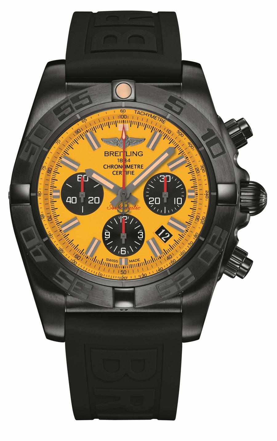 Breitling: Chronomat 44 Blacksteel