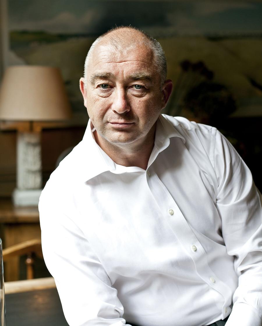 Namensgeber und einer der drei Gründer der englischen Marke: Chris Ward.
