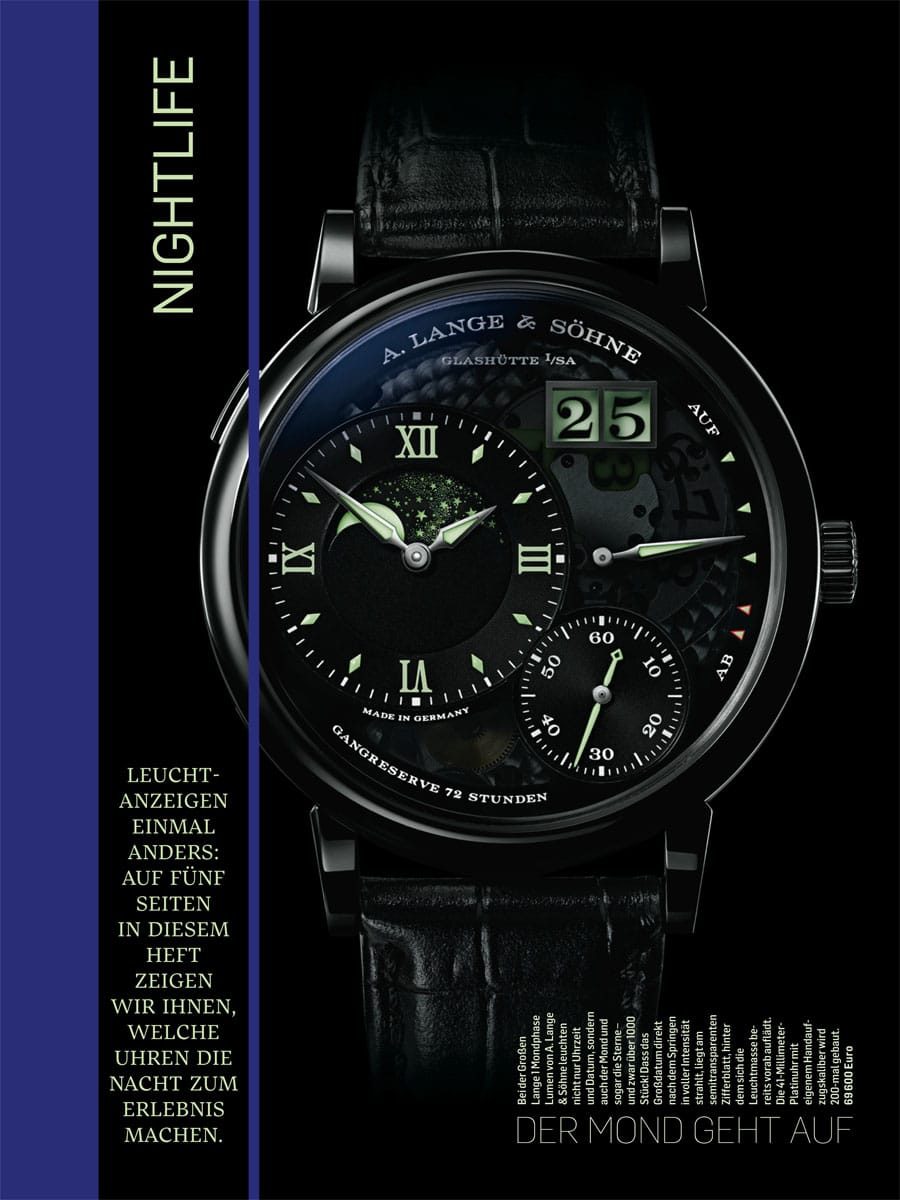 Chronos Special Design 2016/17 Seite Leuchtanzeigen