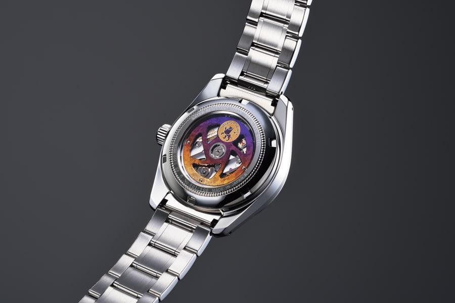 Die Rücksseite der Grand Seiko Hi-Beat 36000 GMT Limited Edition