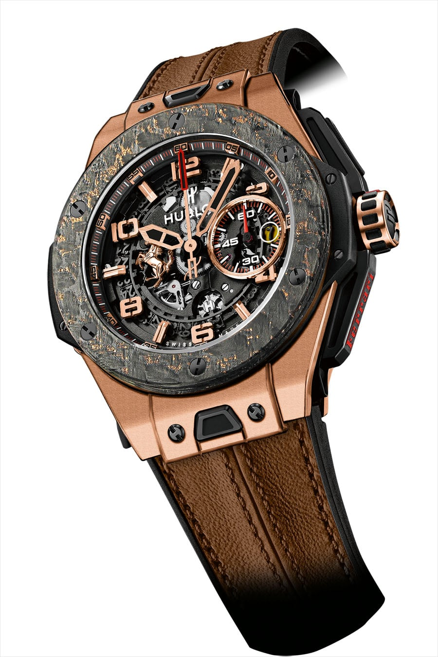 Hublot: Big Bang Ferrari King Gold Carbon