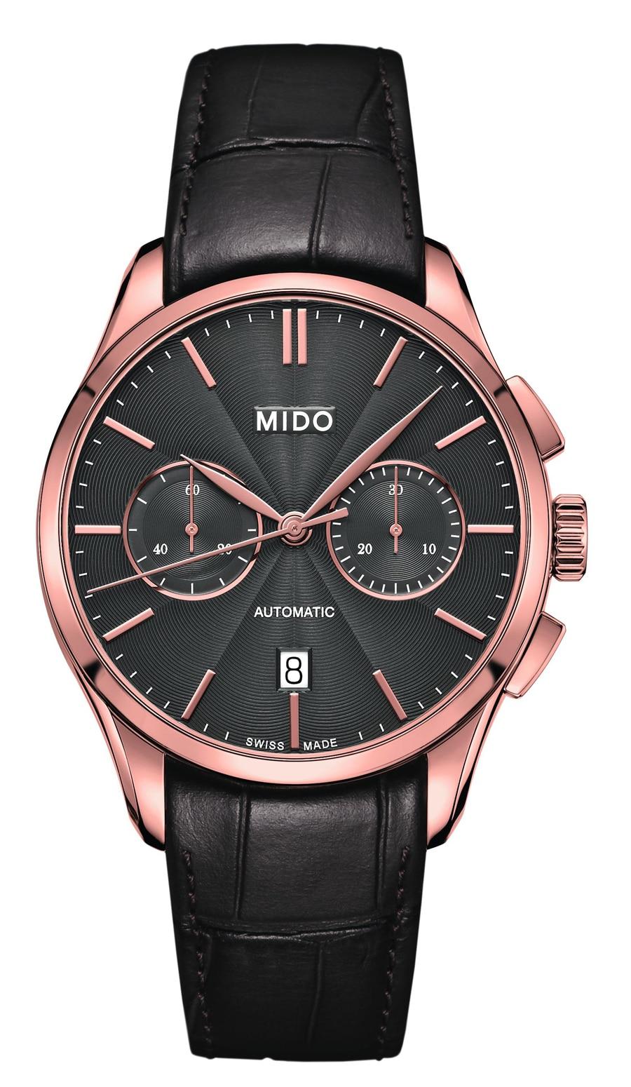 Mido: Belluna Chronograph Caliber 60