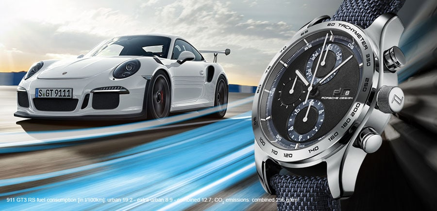 Porsche Design: Deep Blue und GT3