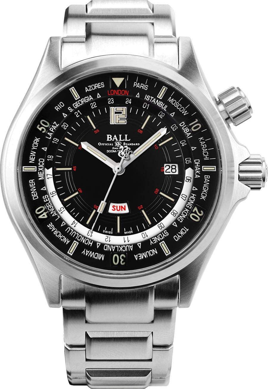 Ball Watch: Engineer Master II Diver Worldtime