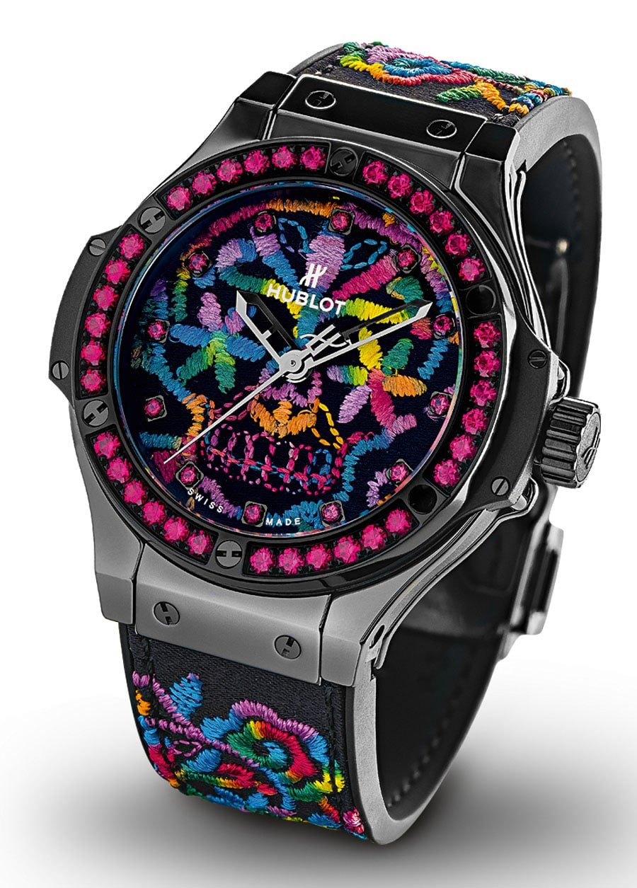 Hublot: Big Bang Broderie Sugar Skull