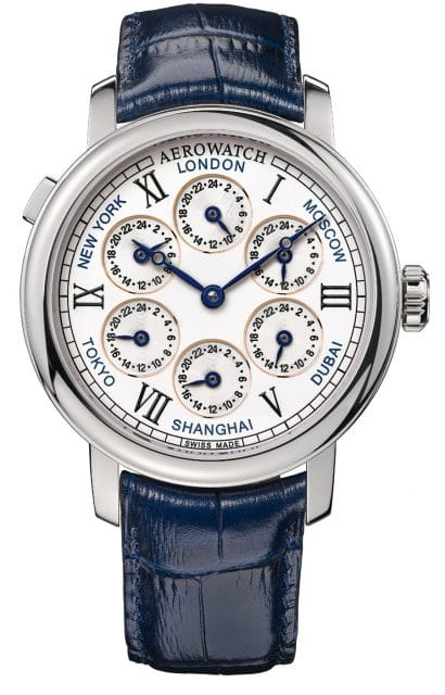 Aerowatch: Renaissance 7 Time Zones