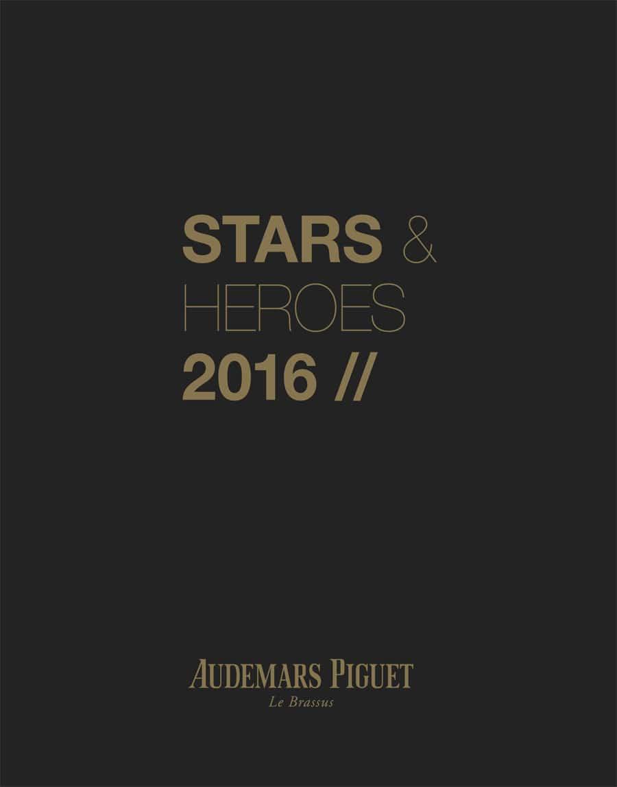 "Audemars Piguet: Katalog ""Stars & Heroes 2016"""