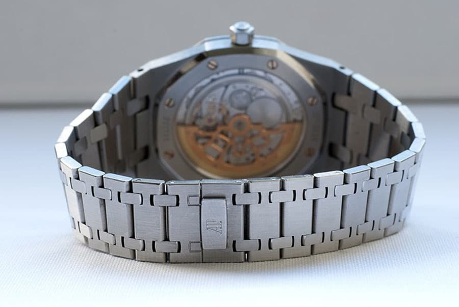 Metallband der Audemars Piguet Royal Oak 15202ST