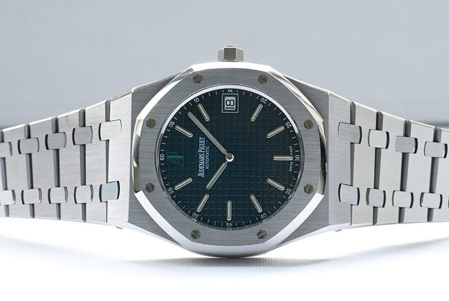 "Audemars Piguet: Royal Oak ""Jumbo"", Referenz 15202ST"
