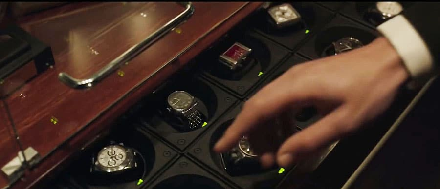 Benedict Cumberbatch alias Doctor Strange zeigt sich in der Marvel-Verfilmung als Uhrenliebhaber. In seiner Schublade mit integrierten Uhrenbewegern ist unter anderem auch eine Rolex Daytona zu sehen, Foto @marvel