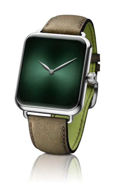 H. Moser & Cie.: Swiss Alp Watch Concept Cosmic Green