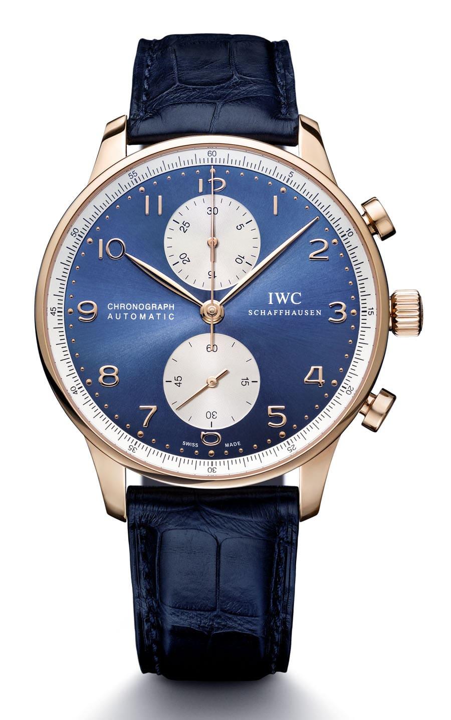 IWC: Portugieser Chronograph Blue Editions