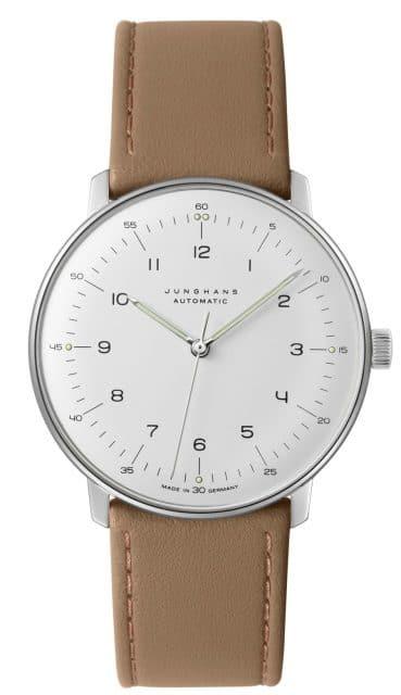 Platz 9 der 25 meistgesuchten Uhren unter 1.000 Euro: Junghans Max Bill Automatic