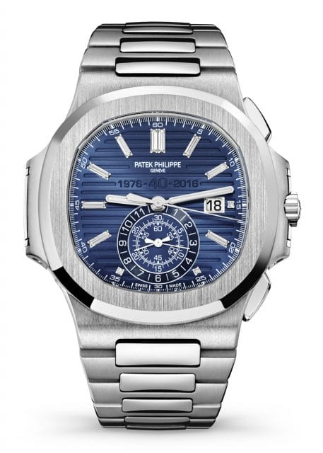Patek Philippe: Nautilus Chronograph Ref. 5976/1G 40th Anniversary Limited Edition