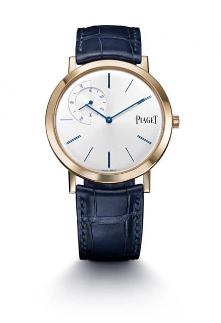 Piaget: Altiplano Blue Editions
