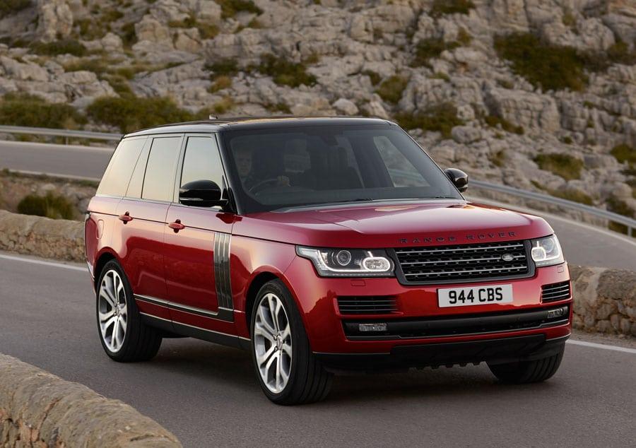 Für den Range Rover ist der Einbau einer mechanischen Borduhr geplant