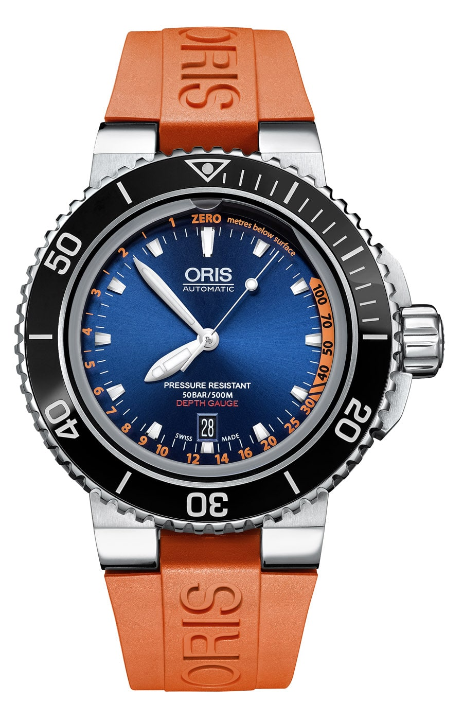 Oris: Aquis Depth Gauge Edition Chronos