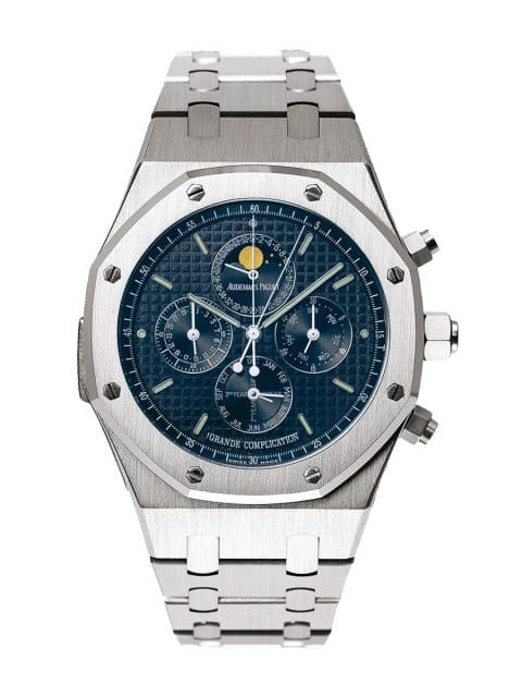 Ewiger Kalender mit Stoppfunktion: Audemars Piguet Royal Oak Grande Complication