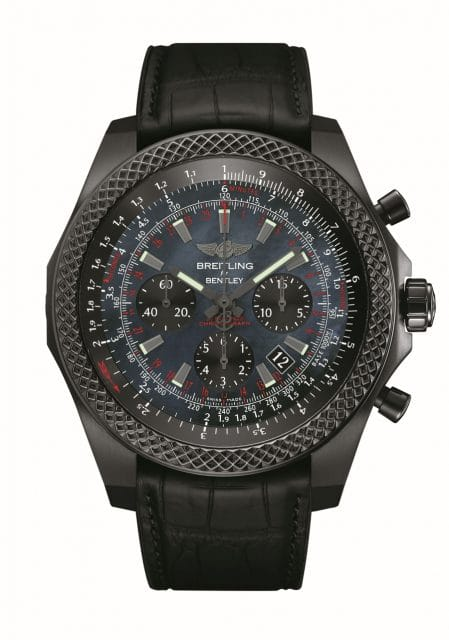 Breitling for Bentley: B06 Midnight Carbon