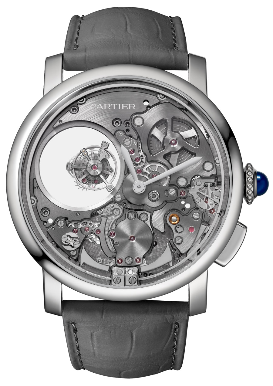 Cartier: Rotonde de Cartier Minute Repeater Mysterious Double Tourbillon