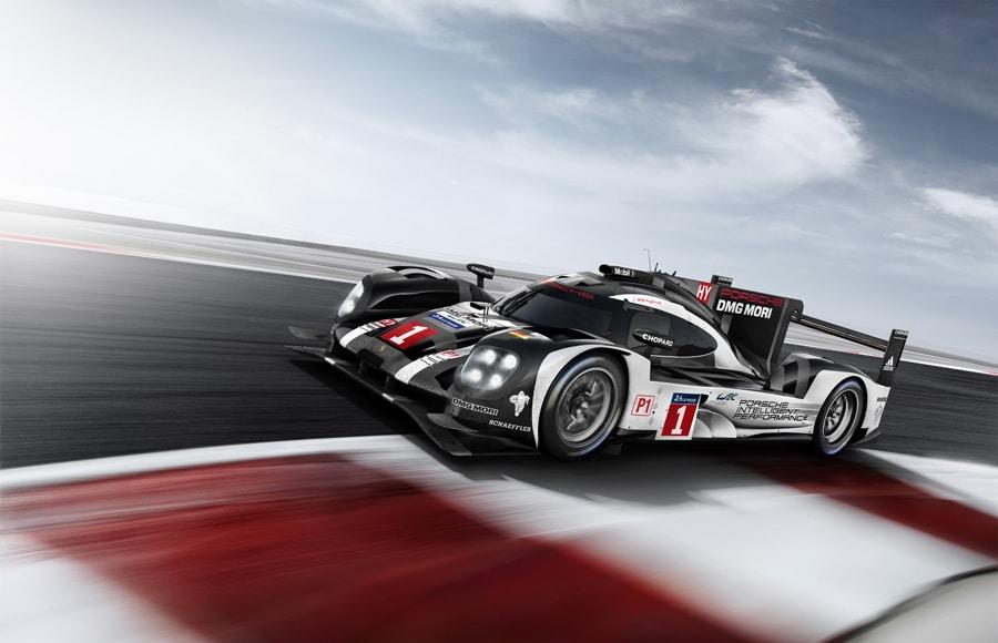 Porsche: Prototyp 919 Hybrid