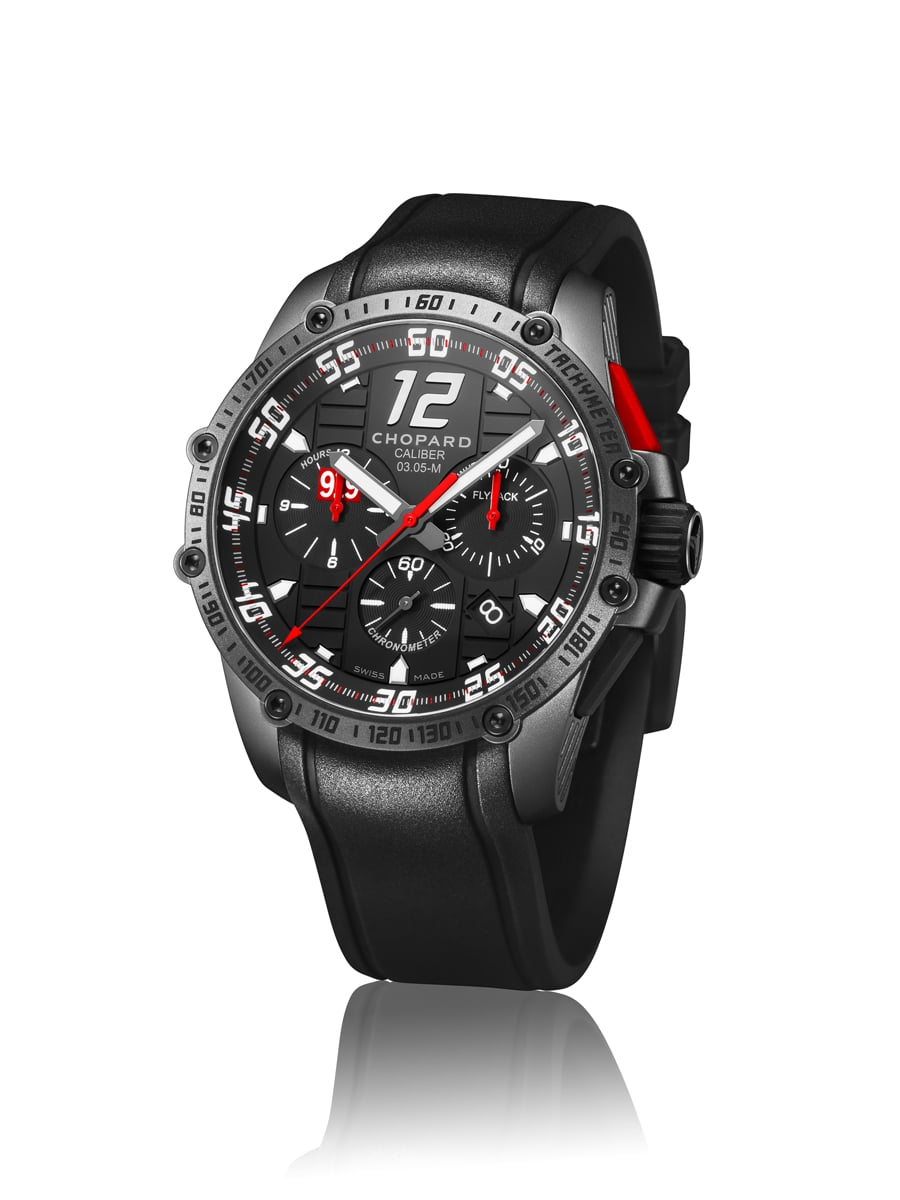 Chopard: Superfast Chrono Black Edition