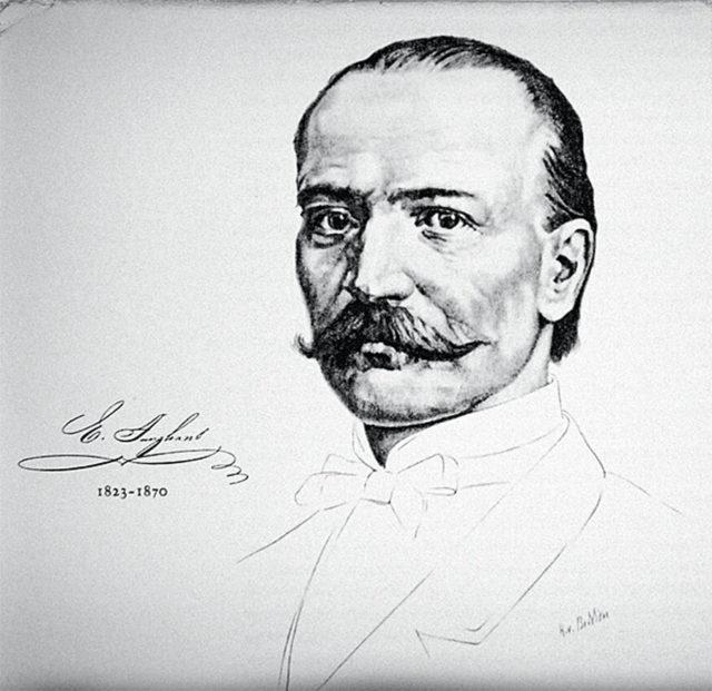 Gründer der bekanntesten deustchen Uhrenmarke: Erhard Junghans (1823–1870)